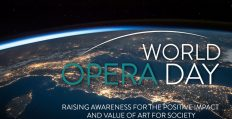 World Opera Day.